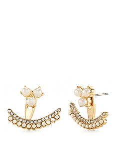 kate spade new york Gold-Tone Dainty Sparklers Ear Jackets