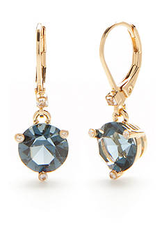 Kate Spade Rise and Shine Gold-Tone Montana Drop Earrings