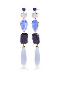 kate spade new york Gold-Tone Linear Earrings