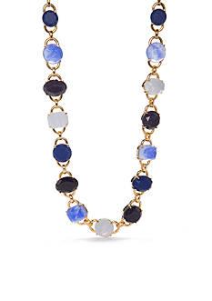 kate spade new york Symphony Sparkle Gold-tone Stone Collar Necklace