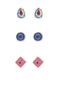 kate spade new york Forever Gems Gold-Tone Stud Earrings Set