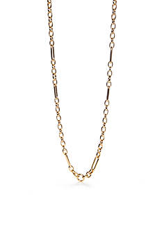 kate spade new york Goldie Links Gold-Tone Long Necklace