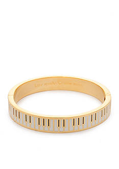kate spade new york So Well Versed Gold-Tone Hinge Bangle Bracelet