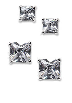 New Directions Square Stud Duo Earring Set