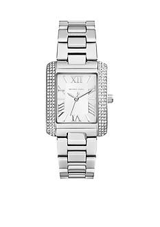 Michael Kors Petite Emery Stainless Steel Analog Glitz Watch