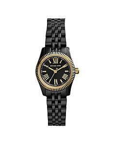 Michael Kors Black IP Petite Lexington Watch