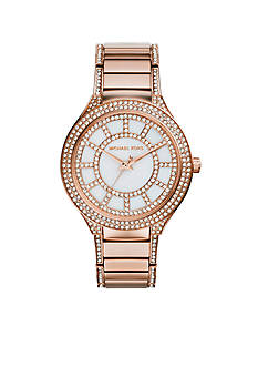 Michael Kors Rose Gold Tone Kerry Watch