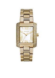 Michael Kors Gold Tone Mini Emery Watch