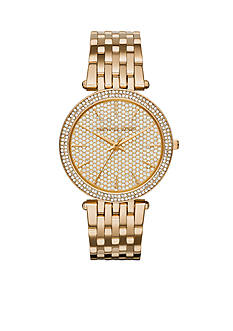 Michael Kors Women's Pave Gold-Tone Darci Watch