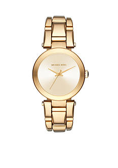 Michael Kors Women's Gold-Tone Delray Watch