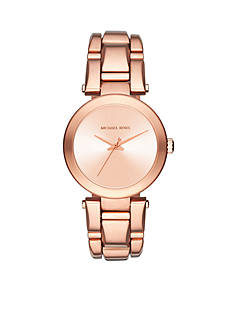 Michael Kors Women's Rose Gold-Tone Delray Watch
