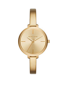 Michael Kors Gold-Tone Jaryn Three-Hand Watch