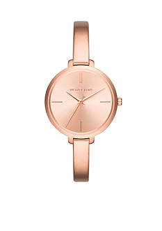 Michael Kors Rose Gold-Tone Jaryn Three-Hand Watch