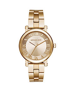 Michael Kors Gold-Tone Norie Three-Hand Watch