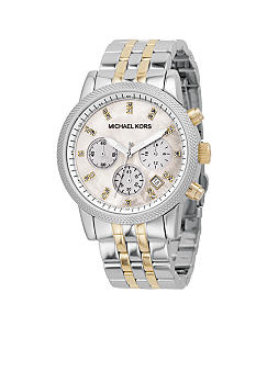 Michael Kors Women's Two-Tone Bracelet Watch