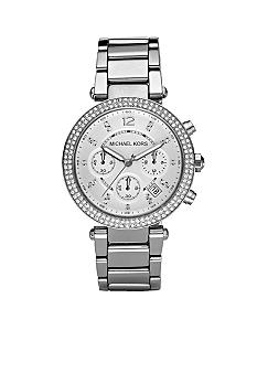 Michael Kors Silver Parker Watch