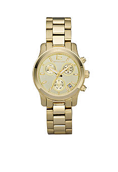 Michael Kors Gold Runway Women's Chronograph Watch