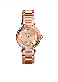 Michael Kors Rose Gold Tone Mini Skylar Watch