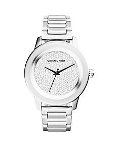 Michael Kors Women's Stainless Steel Kinley Pave Watch