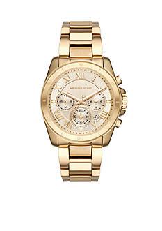 Michael Kors Women's Gold-Tone Brecken Watch
