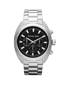 Michael Kors Men's Silver Tone Stainless Steel Chronograph Watch