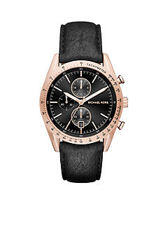 Michael Kors Men's Rose Gold-Tone Accelerator Watch