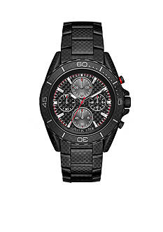 Michael Kors Men's Carbon Fiber JetMaster Watch