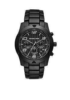 Michael Kors Men's Caine Black Metal Chronograph Watch