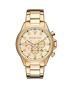 Michael Kors Men's Gold-Tone Gage Watch