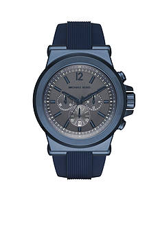 Michael Kors Men's Dylan Navy Silicone Watch