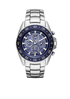 Michael Kors JetMaster Stainless Steel Open Heart Automatic Watch
