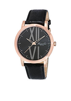 Kenneth Cole Men's Three Hand Rose Gold-Tone Watch