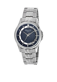 Kenneth Cole Men's Stainless Steel Transparency Watch