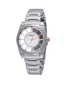 Kenneth Cole Women's Round Stainless Steel Watch