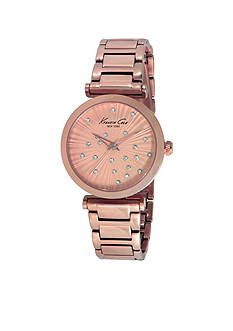 Kenneth Cole Women's Rose Gold Bracelet Watch