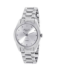 Kenneth Cole New York Women's Diamond Accent Stainless Steel Bracelet