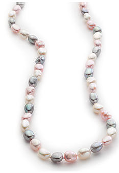 Belk Silverworks Pearl and Sterling Silver Necklace