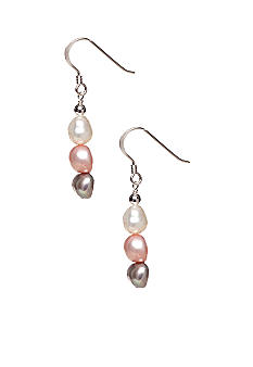 Belk Silverworks Multi Drop Hook Earrings