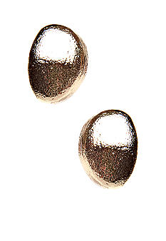 Via Neroli Pierced Button Earrings