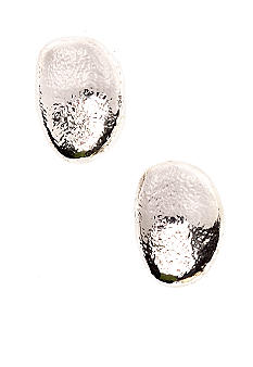 Via Neroli Button Earrings