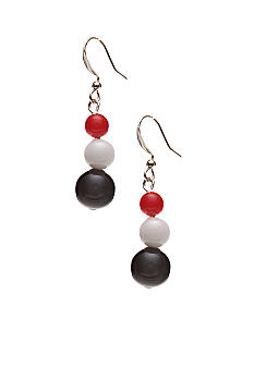 Kim Rogers Ball Drop French Wire Earrings