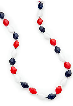 Kim Rogers Flat Oval Necklace
