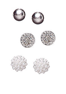 Kim Rogers Stud Trio Earrings