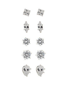 Kim Rogers Shaped Stud Earrings Set