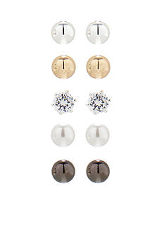 Kim Rogers Ball Stud Earring Boxed Set