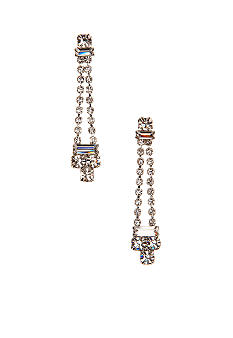 Kim Rogers Two Strand Baguette Earrings