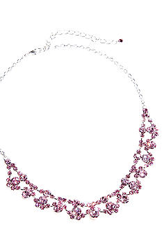 Kim Rogers Floral Frontal Necklace