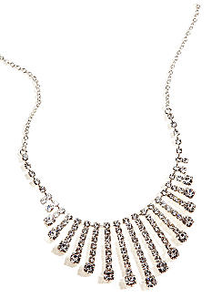 Kim Rogers Crystal Graduated Strand Frontal Necklace