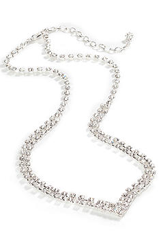 Kim Rogers® Two Row Clear Rhinestone