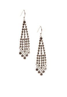 Kim Rogers Rhinestone Chandelier Style Earrings